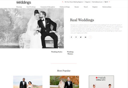Wedding blog backlinks