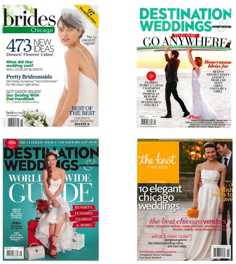 wedding press mentions