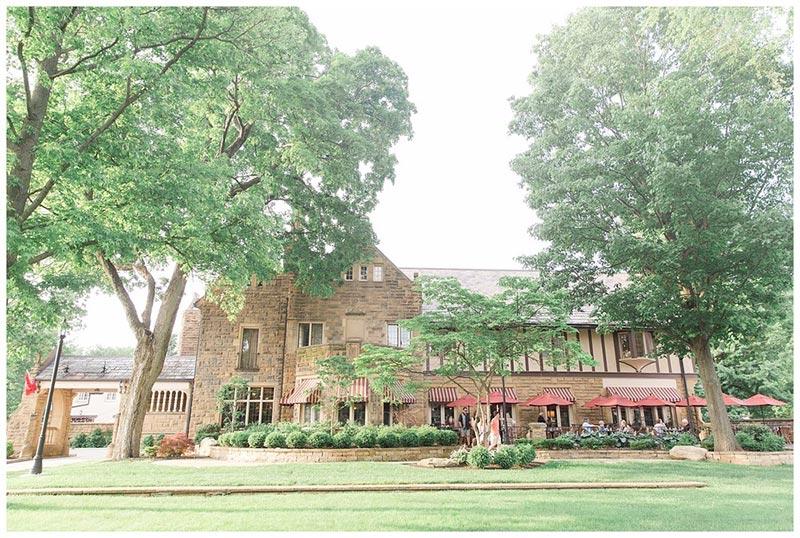 wedding venue to describe in a blog post