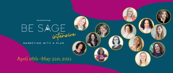 Be Sage Intensive marketing plan