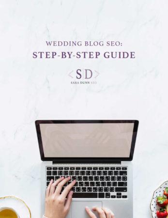 Wedding blogging step by step